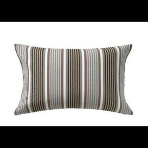 NWT Ragnborg Striped Pillow Case Covers (2)